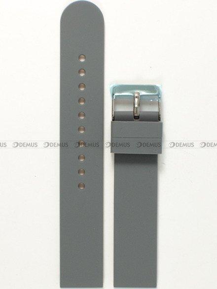 Pasek silikonowy do zegarka - Chermond PG11.20.11.13 - 20 mm
