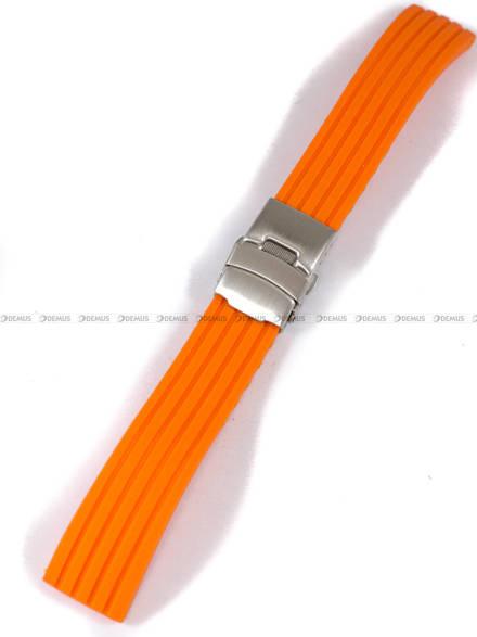 Pasek silikonowy do zegarka - Chermond PG6.20.5 - 20 mm