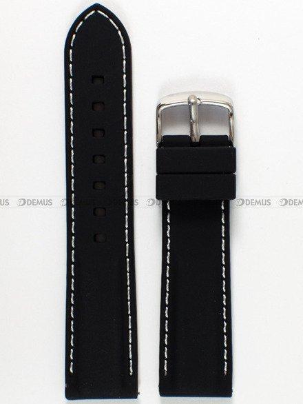 Pasek silikonowy do zegarka - Chermond PG9.22.1.7 - 22 mm