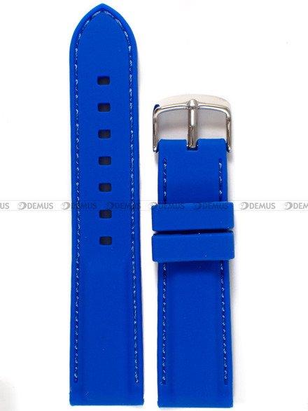 Pasek silikonowy do zegarka - Chermond PG9.22.2.2 - 22 mm