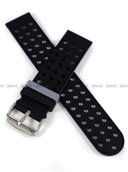 Pasek silikonowy do zegarka - Demus PGS2.22.1.11 - 22 mm