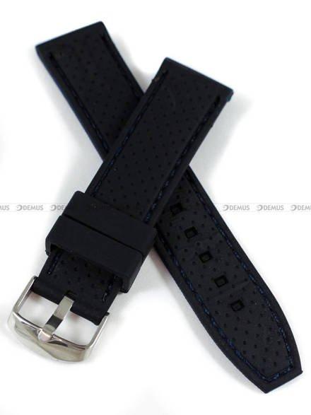 Pasek silikonowy do zegarka - Demus PGS6.22.1.5 - 22 mm