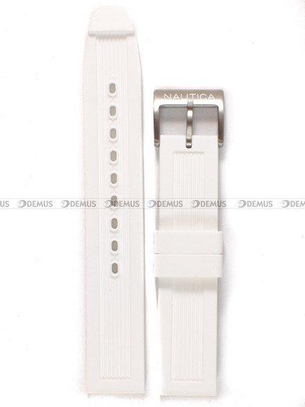 Pasek silikonowy do zegarka Nautica A15631M - 18 mm