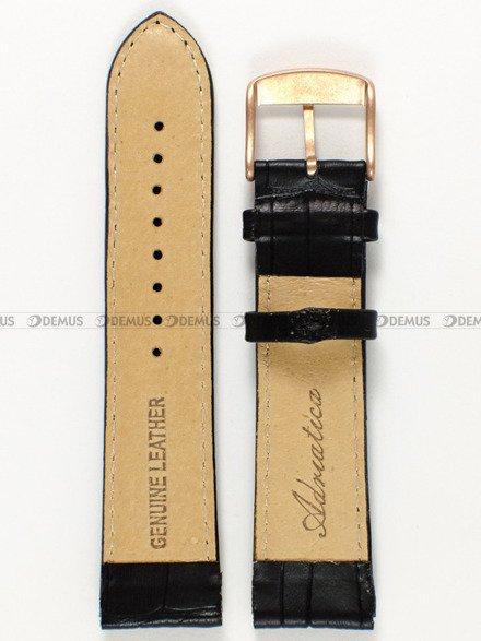 Pasek skórzany do zegarka - Adriatica PADR9.22.1-RG - 22 mm