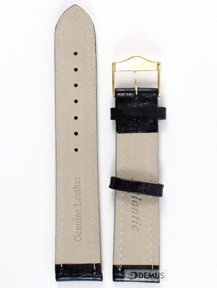 Pasek skórzany do zegarka Atlantic L168.01.20G 20mm