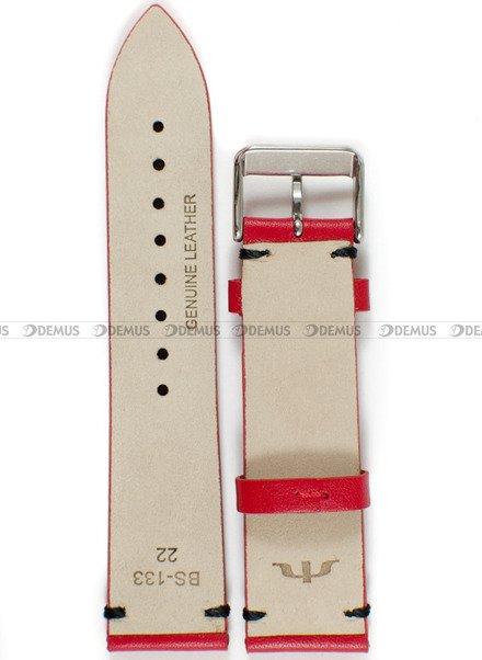 Pasek skórzany do zegarka Bisset - BS-133 - 22 mm