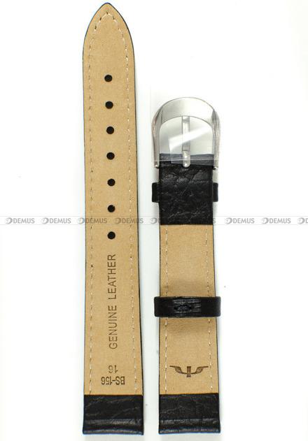 Pasek skórzany do zegarka Bisset - BS-156 - 16 mm - XL