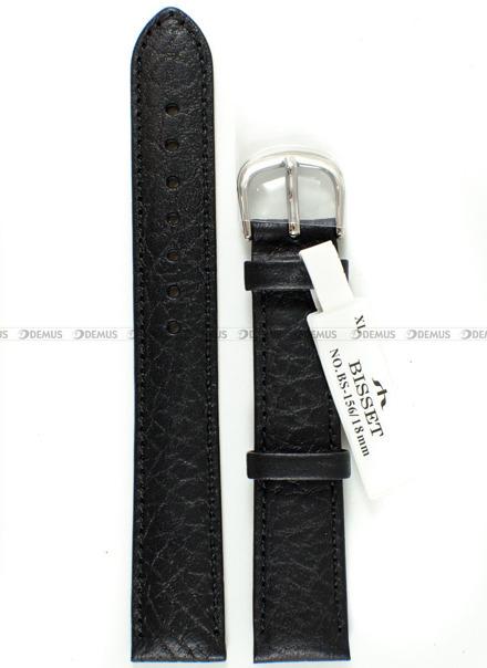 Pasek skórzany do zegarka Bisset - BS-156 - 18 mm - XL