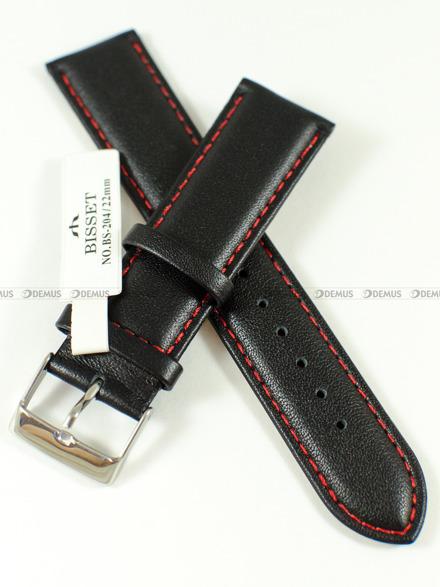 Pasek skórzany do zegarka Bisset - BS-204 - 22 mm