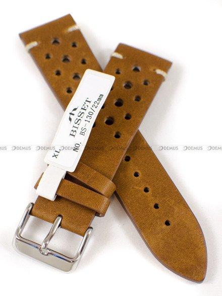 Pasek skórzany do zegarka Bisset - PB101.22.3 - 22 mm