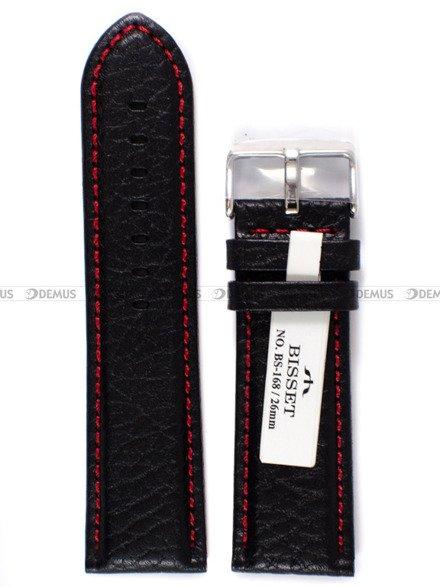 Pasek skórzany do zegarka Bisset - PB103.26.1.4 - 26 mm