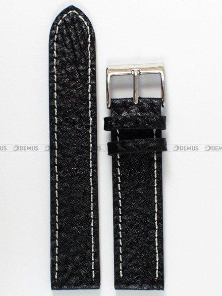 Pasek skórzany do zegarka Bisset - PB58.20.1.7 - 20 mm
