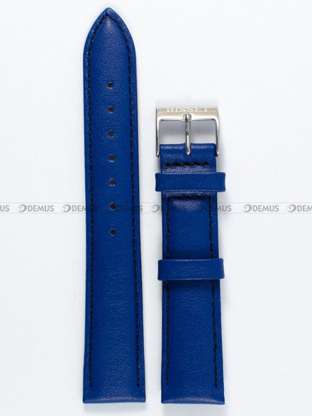 Pasek skórzany do zegarka Bisset - PB76.18.5.1 - 18 mm