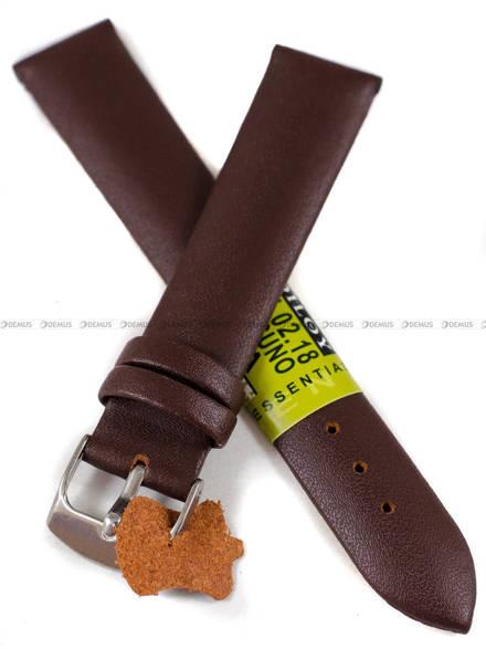 Pasek skórzany do zegarka - Diloy 301.18.2 - 18 mm