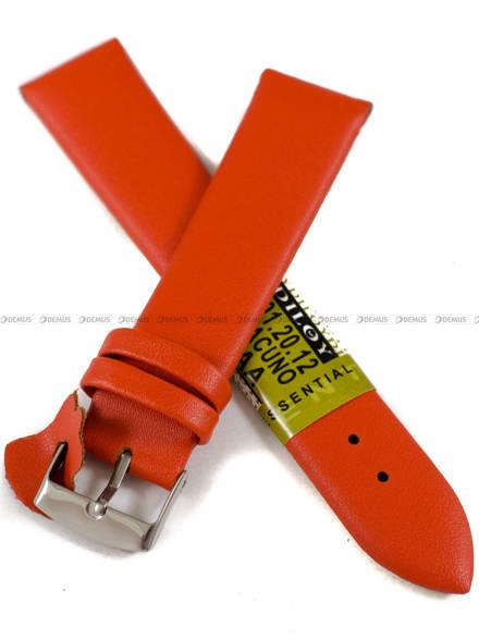 Pasek skórzany do zegarka - Diloy 301.20.12 - 20 mm