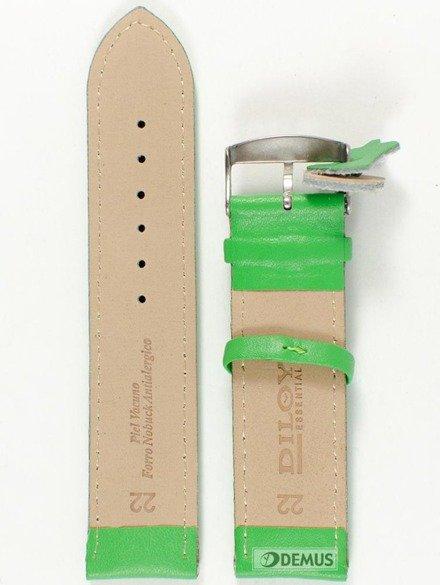 Pasek skórzany do zegarka - Diloy 302.22.11 - 22mm