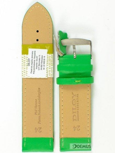 Pasek skórzany do zegarka - Diloy 302.24.11 - 24mm