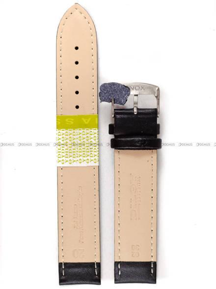 Pasek skórzany do zegarka - Diloy 302EL.20.1 - 20mm