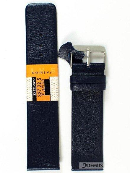 Pasek skórzany do zegarka - Diloy 327.22.5 - 22mm