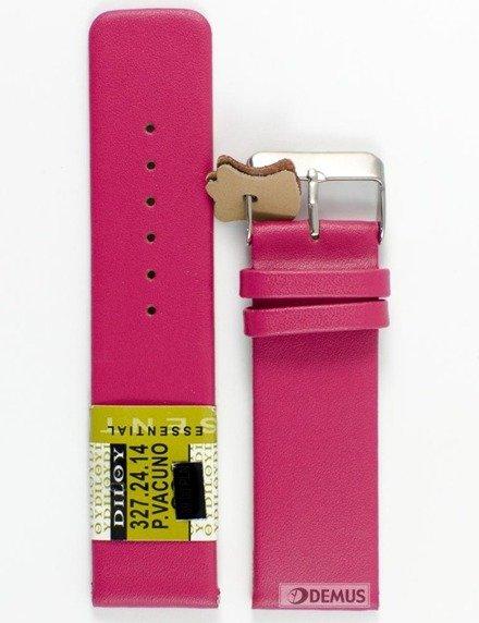 Pasek skórzany do zegarka - Diloy 327.24.14 - 24 mm