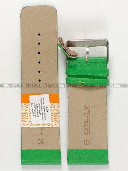 Pasek skórzany do zegarka - Diloy 327.30.11 - 30mm