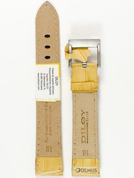 Pasek skórzany do zegarka - Diloy 361.18.17 - 18mm