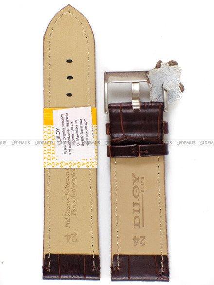 Pasek skórzany do zegarka - Diloy 361.24.2 - 24mm