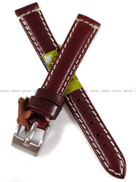 Pasek skórzany do zegarka - Diloy 363.14.4 - 14 mm