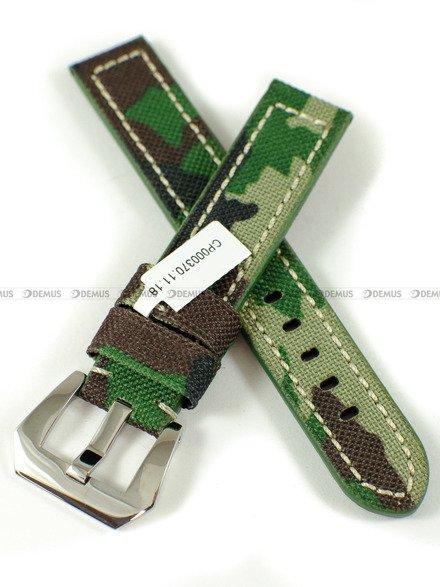 Pasek skórzany do zegarka - Diloy 370.18.11 - 18 mm