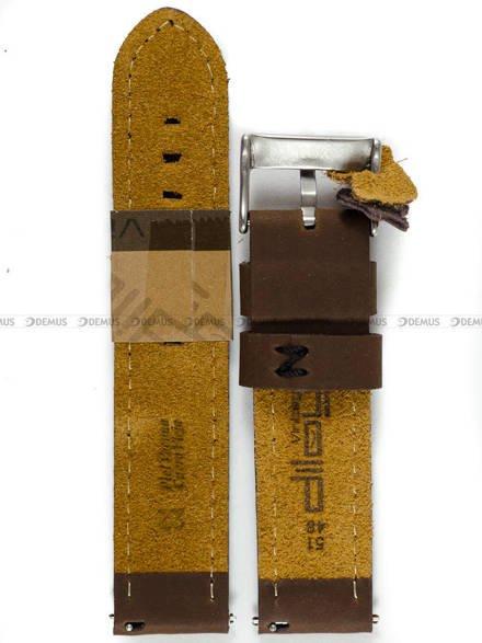 Pasek skórzany do zegarka - Diloy 384.22.3.1 - 22mm