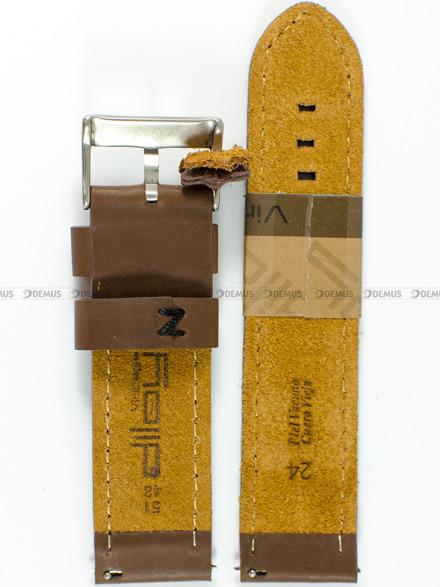 Pasek skórzany do zegarka - Diloy 384.24.89 - 24 mm