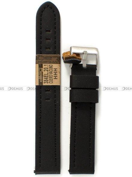 Pasek skórzany do zegarka - Diloy 384EL.20.1 - 20 mm