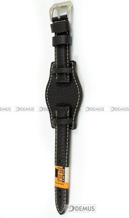 Pasek skórzany do zegarka - Diloy 386.20.2 - 20mm