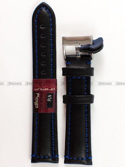 Pasek skórzany do zegarka - Diloy 393.20.1.5 - 20 mm