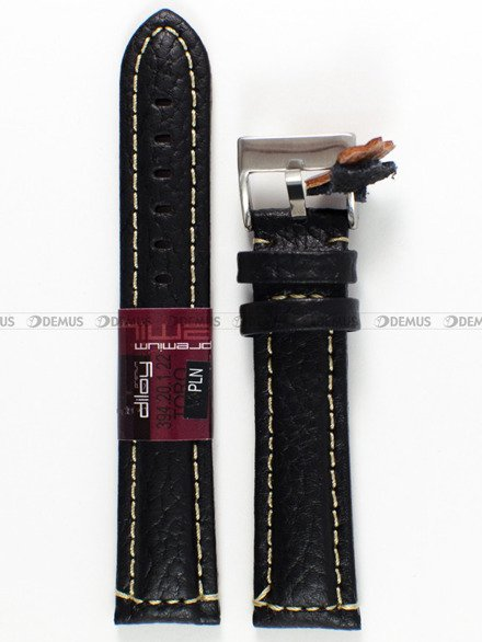 Pasek skórzany do zegarka - Diloy 394.20.1.22 - 20 mm