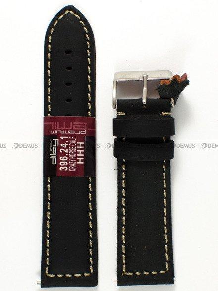 Pasek skórzany do zegarka - Diloy 396.24.1 - 24 mm
