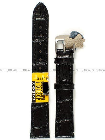 Pasek skórzany do zegarka - Diloy 402.16.1 - 16 mm
