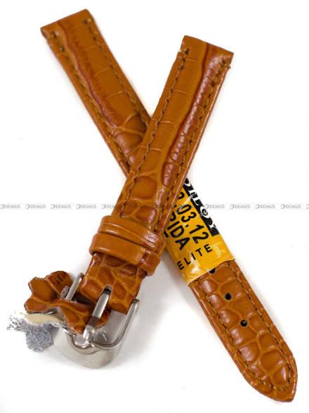 Pasek skórzany do zegarka - Diloy 412.12.3 - 12 mm