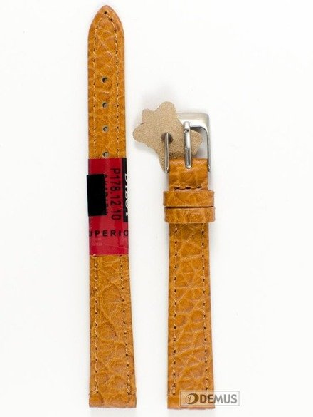 Pasek skórzany do zegarka - Diloy P178.12.10 - 12 mm