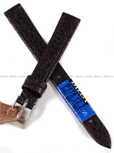 Pasek skórzany do zegarka - Diloy P178.12.2 - 12 mm