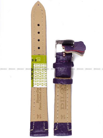 Pasek skórzany do zegarka - Diloy P178.14.18 - 14 mm