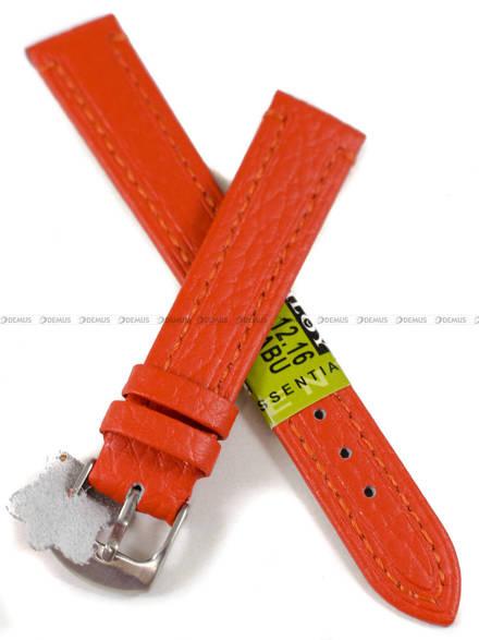 Pasek skórzany do zegarka - Diloy P178.16.12 - 16 mm