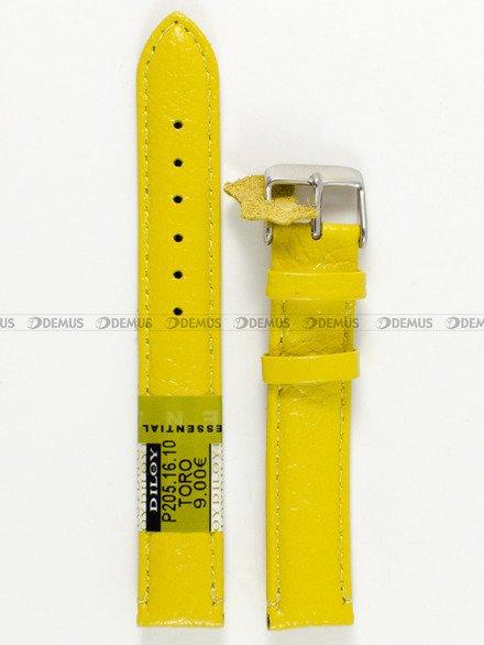 Pasek skórzany do zegarka - Diloy P205.16.10 v2 - 16 mm