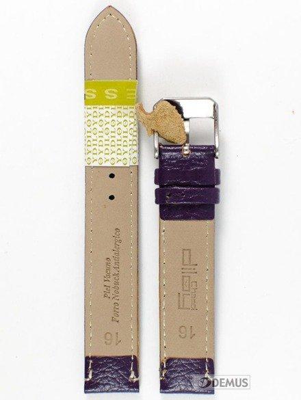 Pasek skórzany do zegarka - Diloy P205.16.18 - 16mm