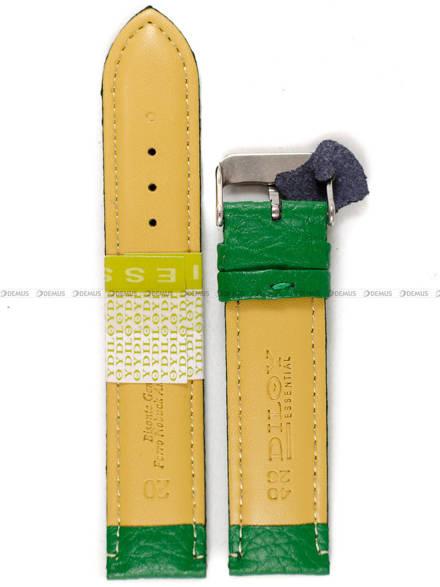 Pasek skórzany do zegarka - Diloy P205.20.11 - 20mm