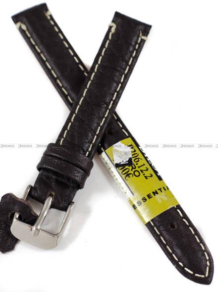 Pasek skórzany do zegarka - Diloy P206.12.2 - 12 mm