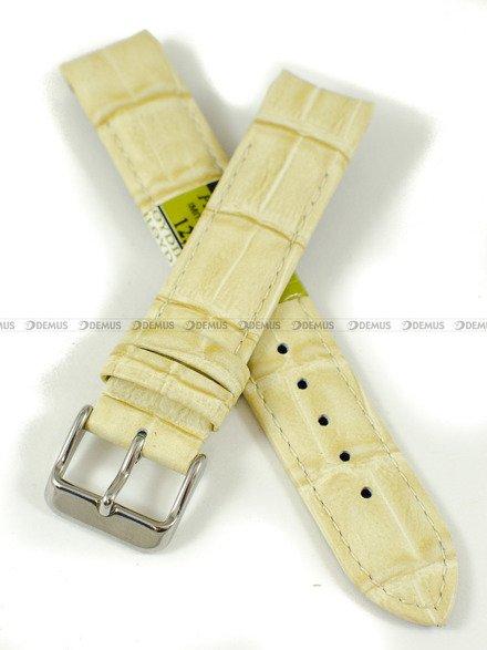Pasek skórzany do zegarka - Diloy P265.18.10 - 18 mm