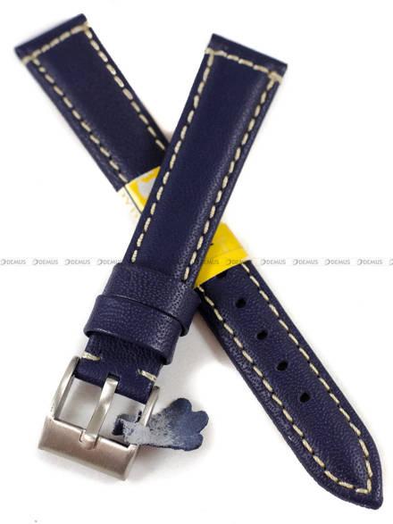 Pasek skórzany do zegarka - Diloy P354.16.5 - 16 mm