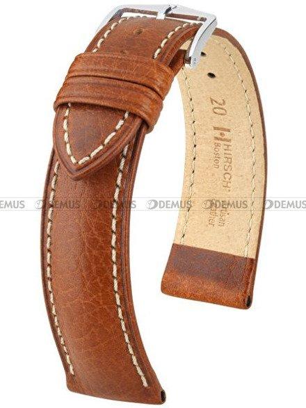 Pasek skórzany do zegarka - Hirsch Boston 01302070-2-18 - 18 mm