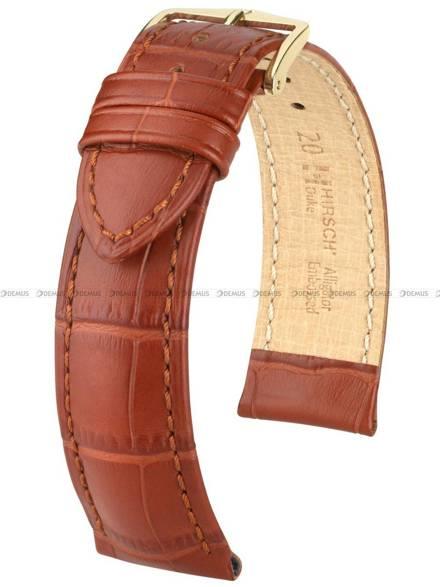Pasek skórzany do zegarka - Hirsch Duke 01028170-1-18 - 18  mm - M
